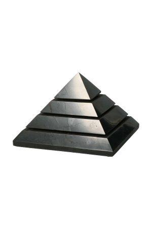 Shungiet piramide, pyramid, shungite, shungit, kopen, edelsteen piramide, steen, gemstone, Shungiet sakkara piramide, shungite sakkara pyramid