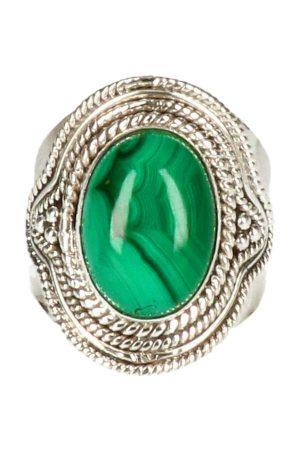 malachiet ring, malachiet zilveren ring, groen, malachite, silver, sieraad. juwelen, sieraden, edelsteen, edelstenen, kopen