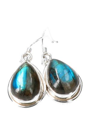 blauwe Labradoriet oorbellen zilver, 1.5 cm, 925 sterling, blauwe Labradoriet oorbellen zilver, 925 sterling, kopen, earrings, oor hangers, kopen, labradorite, edelsteen oorbellen