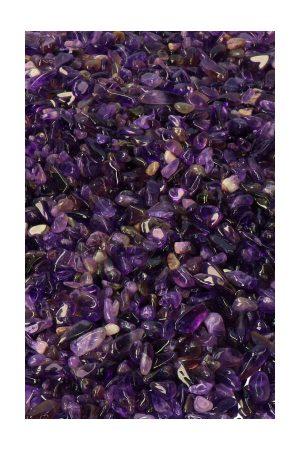 Amethist chips top kwaliteit, amethist kleine steentjes, stenen, edelstenen, kleine steentjes, mini stenen