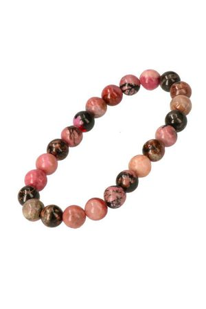 powerbead, armband, edelsteen armband, edelstenen armband, rhodoniet armband, rhodonite, kopen