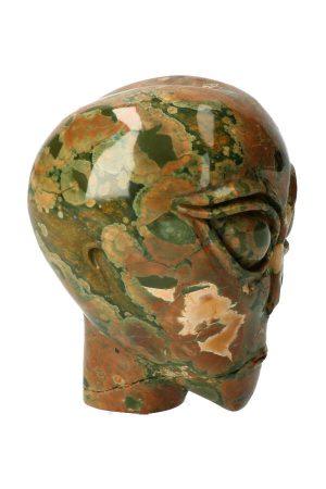 Rhyoliet alien kristallen schedel, 1ryoliet schedel, kristallen schedel, crystal skull, kopen, rhyolite, ryolite