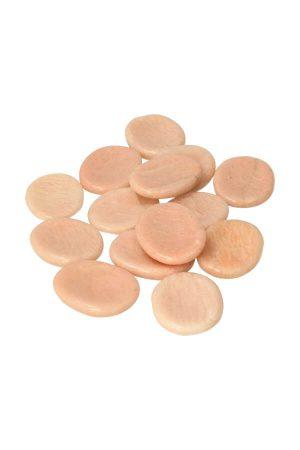 perzik Maansteen duimsteen, moonstone worry stone, kopen, maansteen zaksteen,, knuffelsteen, kopen