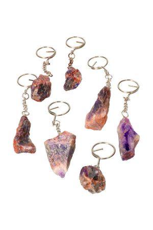 Auraliet 23 stenen, steen, trommelsteen, trommmelstenen, knuffelsteen, knuffelstenen, gepolijst, kopen, auralite, canada, cave of wonders, auraliet 23 sleutelhanger