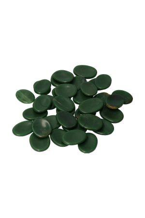 Jade duimsteen, 3.5 a 4 cm, jade worrystone, stress steen, thumbstone, jade knuffelsteen, zaksteen, kopen