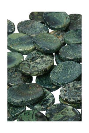 Eldariet Duimsteen (Kambaba), eldarite worry stone, kopen, edelsteen duimsteen, zaksteen, kambaba jaspis, duimstenen