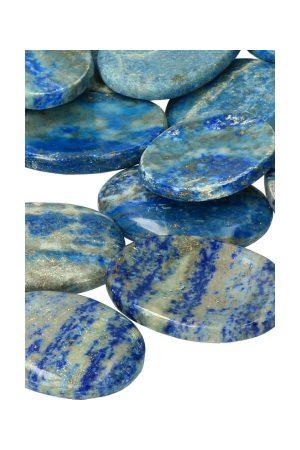 lapis lazuli duimsteen, lapi duimstenen, worry stone, kopen, edelsteen, edelstenen