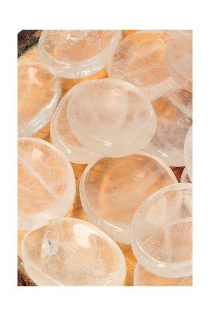 Bergkristal duimsteen, bergkristal duimstenen, thumbstone, worrystonge, rock quartz, clear quartz, kopen, edelsteen, edelstenen