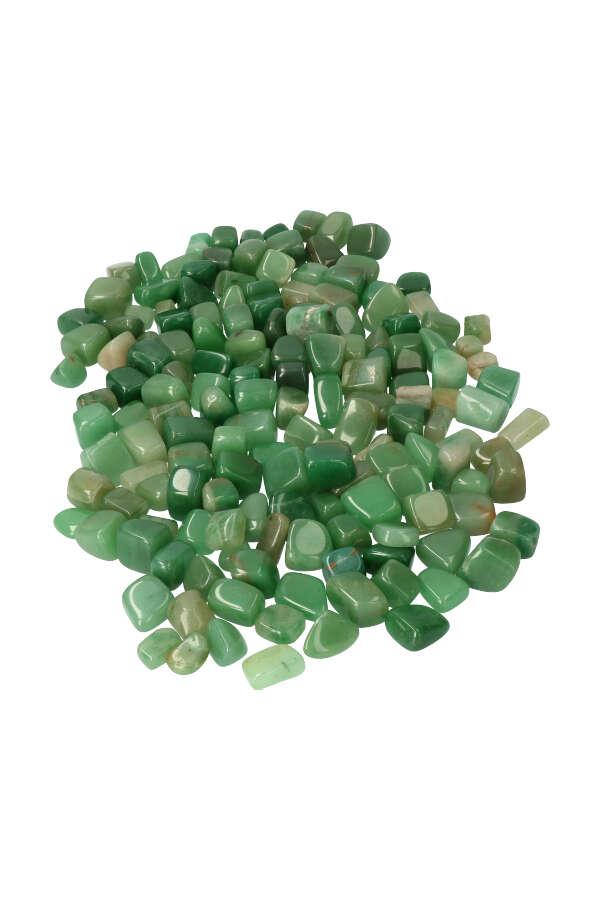 Aventurijn stenen, 50 gram tot 1 kilo, circa 2 a 2.5 cm, Zimbabwe