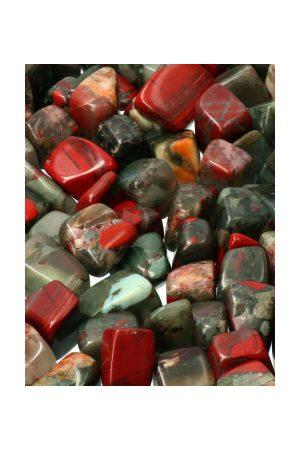 Bloedsteen, bloedsteen steen, getrommeld, knuffelsteen, knuffelstenen, gepolijst, polished, tumbled, tumble stone, bloodstone, kopen, kristal, edelsteen, edelstenen