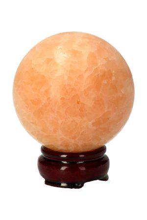 Gele Calciet bol, yellow calcite sphere, kopen, edelsteen bol, edelstenen