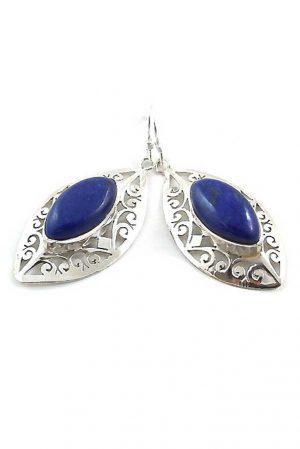 Lapis Lazuli oorbellen zilver, 925 sterling, kopen, lapis lazule, earrings, edelstenen