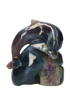 geode dolfijn amethist, dolphin, agaat, kopen, edelsteen, edelstenen,