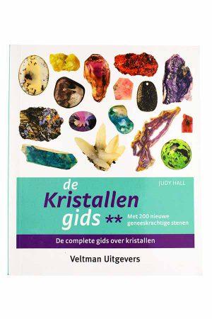 De kristallen gids deel 2 - judy hall, edelstenen boek, informatie edelsteen, mineralen