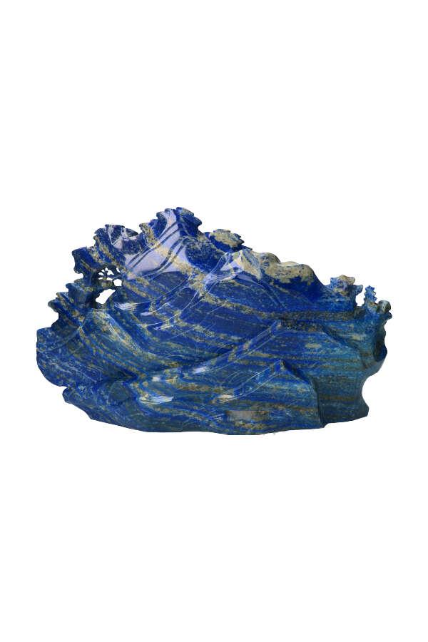 Lapis Lazuli chinees tafereel, groot, lapis lazuli sculptuur, beeld, groot, kopen, lapis, lazule, buy, chinees landschap, stenen, edelstenen, steen,