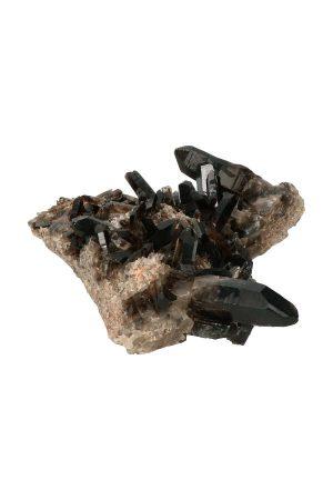 Morion cluster, osiris cluster, rookkwarts groep, smokey quartz, kopen, mineralen, mineraal, specimen