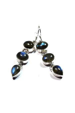 blauwe Labradoriet oorbellen zilver, 925 sterling, kopen, earrings, oor hangers, kopen, labradorite, edelsteen oorbellen
