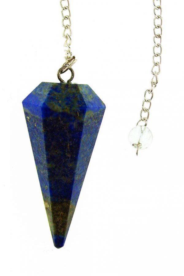 Lapis Lazuli pendel, pendulum, pen, lapis, heksen, hekserij, kopen