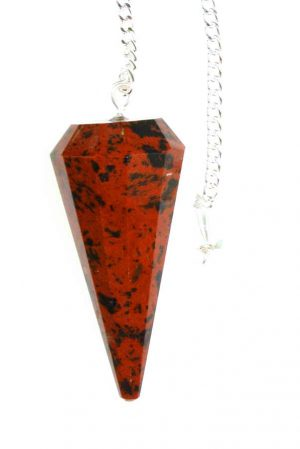 mahonie obsidiaan pendel, pendulum, pendullum, mahoganny obsidian, kopen