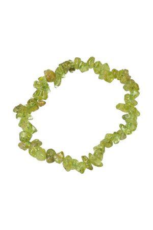 Peridoot splitarmband, 18 cm , peridote bracelet, peridot, olivijn, edelstenen, edelsteen, sieraden, sieraad