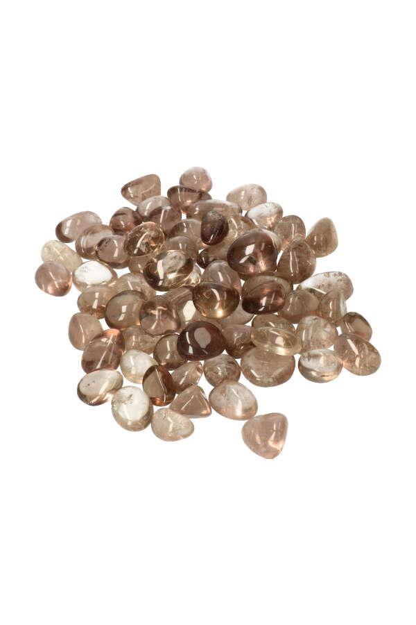 Rookkwarts steen, 1 steen, 3 a 3.5 cm, 25-35 gram