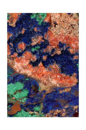 azurite with malachite, mineraal, mineralen, kopen, Azuriet met Malachiet, ruw brok