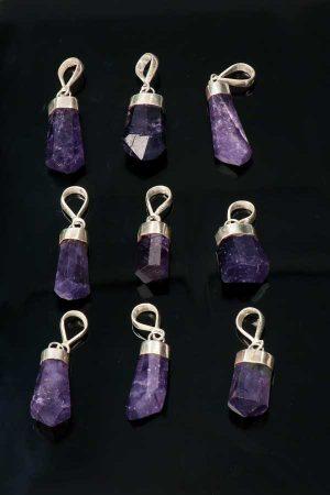 scapoliet zilveren hanger, silver scapolite pendant, scapoliet seiraad, ketting