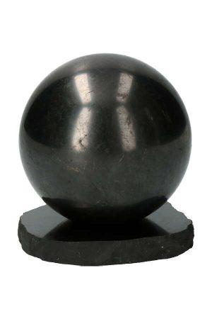 shungiet bol 10 cm, shungit, shungite, sphere, kopen, bal
