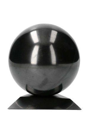 shungiet bol 15 cm, shungit, shungite, sphere, kopen, bal