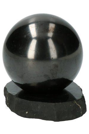 shungiet bol 6 cm, shungit, shungite, sphere, kopen, bal