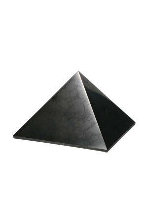 Shungiet piramide, pyramid, shungite, shungit, kopen, edelsteen piramide, steen, gemstone