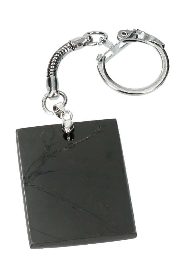 sleutelhanger Shungiet vierkant, 4 cm