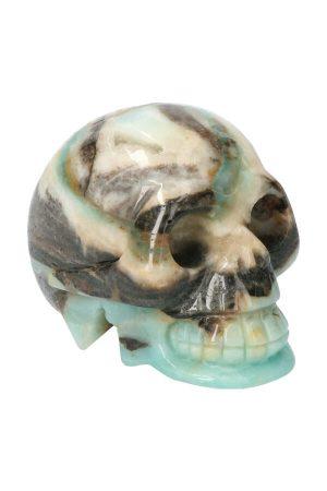 toermalijn met amazoniet kristallen schedel, 5 cm, amazoniet crystal skull, amazoniet kristallen schedel, amazonite crystal skull, kopen, happy spirit, chinese amazoniet, amazoniet geode kristallen schedel, toermalijn, amazoniet schedel, amazoniet schedel, 5cm