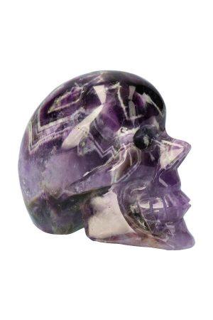 amethistkwarts crystal skull, amethist crystal skull, kristallen schedel amethist