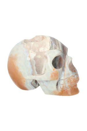 chalcedoon schedel, chalcedoon kristallen schedel, chalcedone crystal skull, kopen