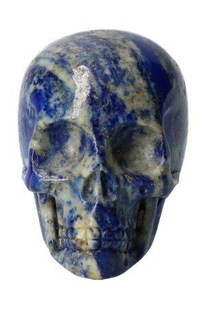 lapis lazuli kristallen schedel open kaak, lapis lazuli crystal skull, kopen, lapis, lazule, edelsteen schedel