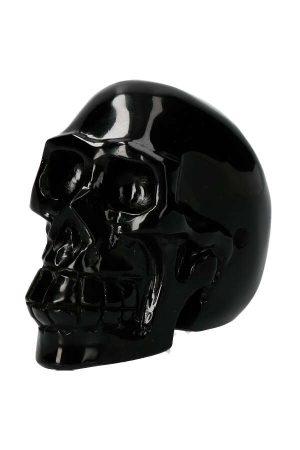 Crystal Skull Obsidiaan 528 gram