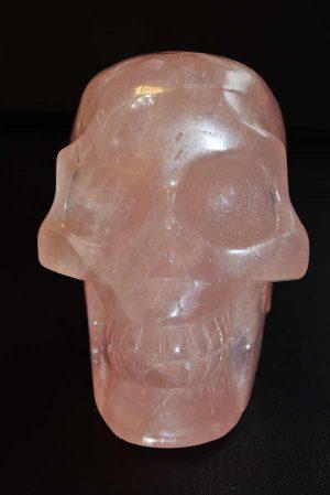 Rozekwarts Crystal Skull