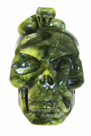 slangen, Jade slang schedel kundalini, jade slangen schedel, kundalini, snake skull, gemstone, edelsteen, edelstenen, kopen, arnhem