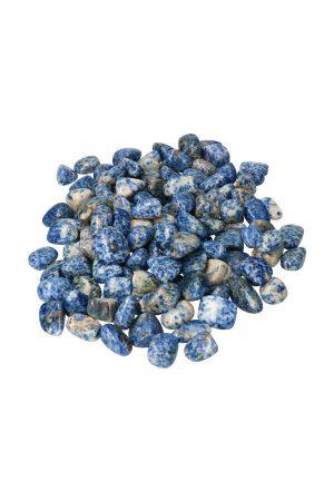 sodaliet, knuffelsteen, sodaliet steen, edelsteen, edelstenen, getrommeld, trommelsteen, sodalite, kopen