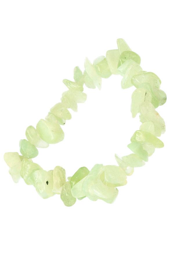 Jade splitarmband, 18 cm