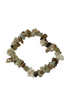 Labradoriet splitarmband, labradorite chips bracelet, edelsteen armband, edelstenen, sieraad, sieraden, kopen