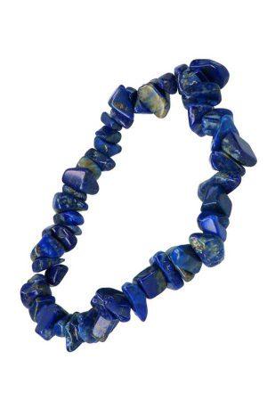 Lapis Lazuli splitarmband, 18 cm, chips bracelet, kopen, edelsteen armbandje, spiritueel