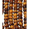 tijgeroog kralen, streng, 8 mm, kopen, sieraden maken, armband maken, armbanden, ketting maken, edelsteen, edelstenen, toebehoren, findings, kopen