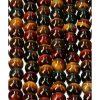 Rode Tijgeroog kralen 8 mm, streng 39 cm, circa 47 kralen, RED TIGER EYE, EDELSTENEN, EDELSTEEN KRALEN, , zelf sieraden maken, ketting maken, armband maken, kopen, tIJGEROOG TRIO KRALEN STRENG, edelsteen kralen streng, valkenoog, blauwe tijgeroog,