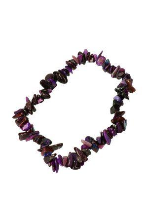 Sugiliet splitarmband, 18 cm, sugilite bracelet, kopen, edelsteen armband, edelstenen