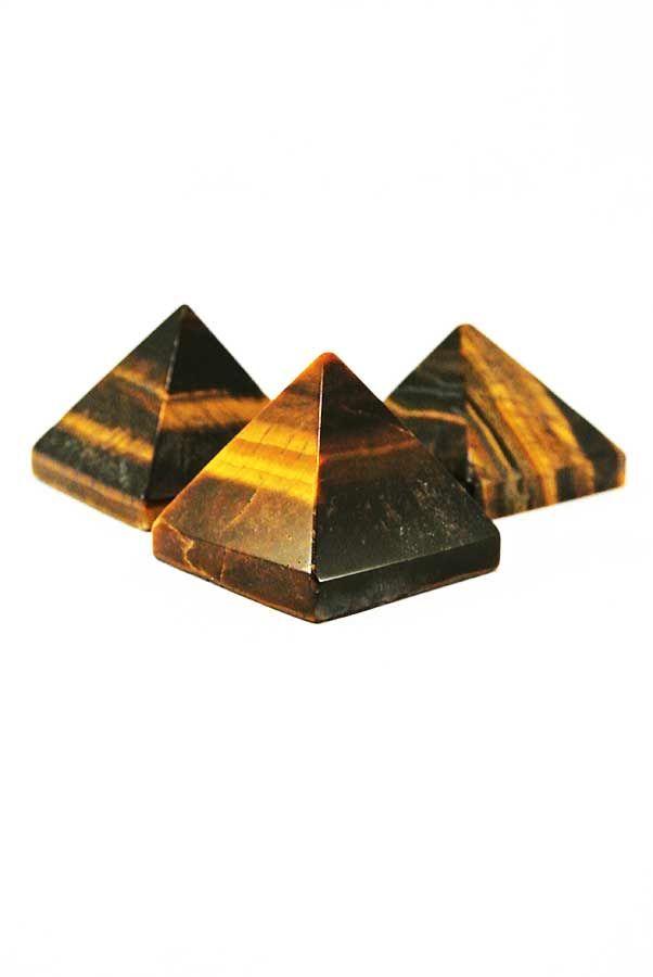 Tijgeroog piramide, 30-35 mm, Zuid Afrika