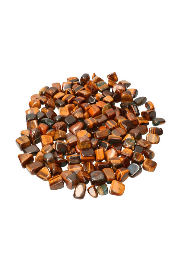 Tijgeroog steen, 1 steen, circa 2.5 cm, Australië, 10-20 gram