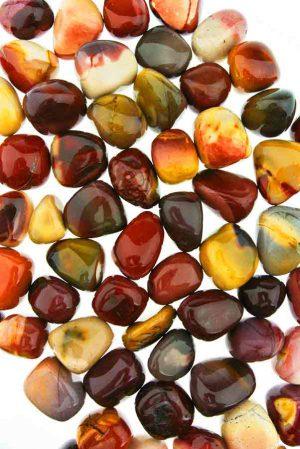 getrommeld, gepolijst, mookaite, mookaiet, mookaiet stenen, edelstenen, mineralen, edelsteen, mineraal, kopen