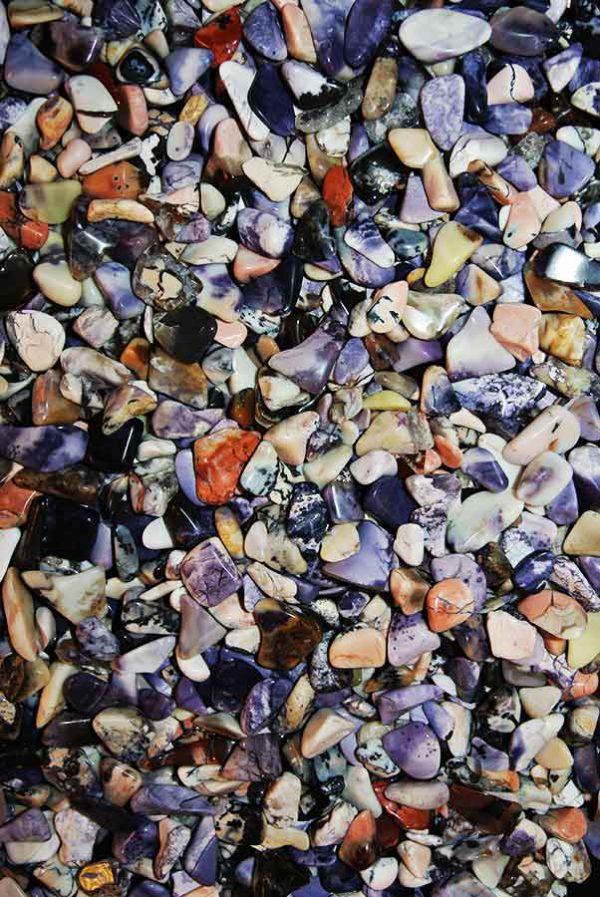 Tiffany stone klein (bertrandiet), 1 cm - 2 cm, USA, 10 gram